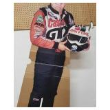 6ft tall John force cutout