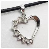 STERLING SILVER DIAMOND (0.01 CTS)
