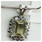 14 K WHITE GOLD ZULTANI (1.5 CTS) 18 DIAMOND