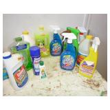 MISC CLEANING SUPPLIES; PINE SOL, MR. CLEAN, ETC
