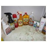 MISC CLEANING SUPPLIES; LESTOIL, MUPHY OIL SOAP,