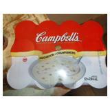 CAMPBELLS CREAM OF MUSHROOM SOUP 12 CANS