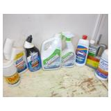 MISC CLEANERS; LYSOL TOILET BOWL CLEANER, ETC
