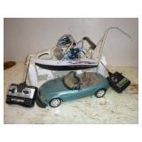 REMOTE CONTROL BOAT & CAR