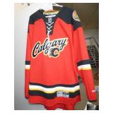 NEW CALGARY FLAMES NHL SIZE XL JERSEY