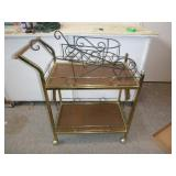 KITCHEN CART & PLANT STAND