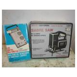 CRAFTSMAN SABRE SAW, LCD DIGITAL MULTIMETER