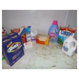 LAUNDRY SOAP, BLEACH, SOFTNER, ETC