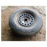 Goodyear P265/70R17 tire