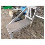 Wood Goat Milking stand