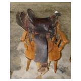 OKC Stockyard saddle