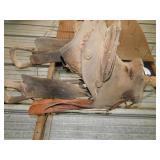 Old saddle