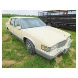 1990 Cadillac Sedan DeVille car