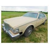 1982 Cadillac Seville car