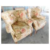 2-floral chairs