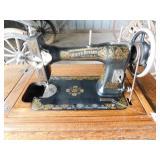 White Rotary Treadle Sewing Machine