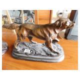Fred Unruh- bronze Bird Dog