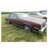 1982 Cadillac Eldorado car