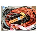 Extension Cords, Bungees, Hose, Stakes