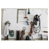 East Wall - Extension Cords, Chains,