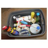 Cleaning Supplies/ Tote