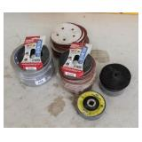 Polishing Discs, Duct tape, Pads