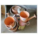 Outdoor Pots, water cans