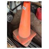 4 - Orange Safety Cones