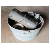 Large Metal Bucket/Container