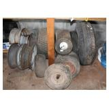 Miscellaneous tires and wheels
