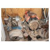 2 - V-8 Flathead Ford Engines & Rear End