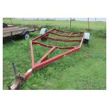 Red Boat Trailer