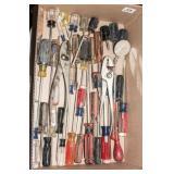 screwdrivers - craftsman, pliers