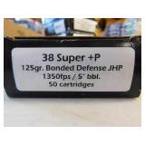 38 SUPER +P 50 ROUNDS