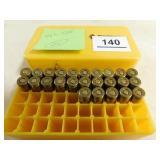 7.63 S.B.P. 25 ROUNDS IN PLASTIC CASE