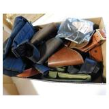 HOLSTERS AND BELTS, AMMO POUCHES