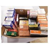 BRASS IN BOXES ASSORTED CALIBERS - EMPTIES