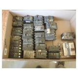 misc breakers and electrical supplies