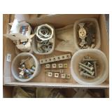 electrical lock nuts, fuses, lug bars, outlet