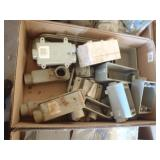 pvc boxes, 90s, outlet covers