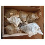 "Several bags of woodfast screws 10x2"" 10x2 1/2"""