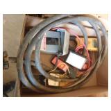 220 cord, multi meters, circuit detective,