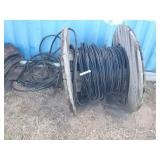 Electric service line, 1/0 AWG