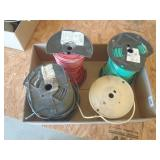 4 partial rolls of 12 AWG wire