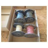 4 partial rolls of 16 AWG