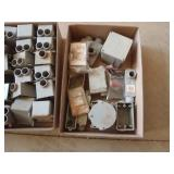 PVC boxes, fittings, conduit