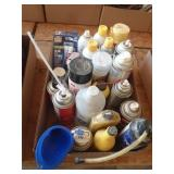 Automotive aerosols, RTV silicone, lubricants