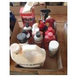 Auto detail items, waxes, soaps, degreaser
