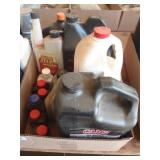 2 cycle oil, bar oil, sta-bil