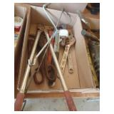rusty pipe wrenches and adjustable wrenches,